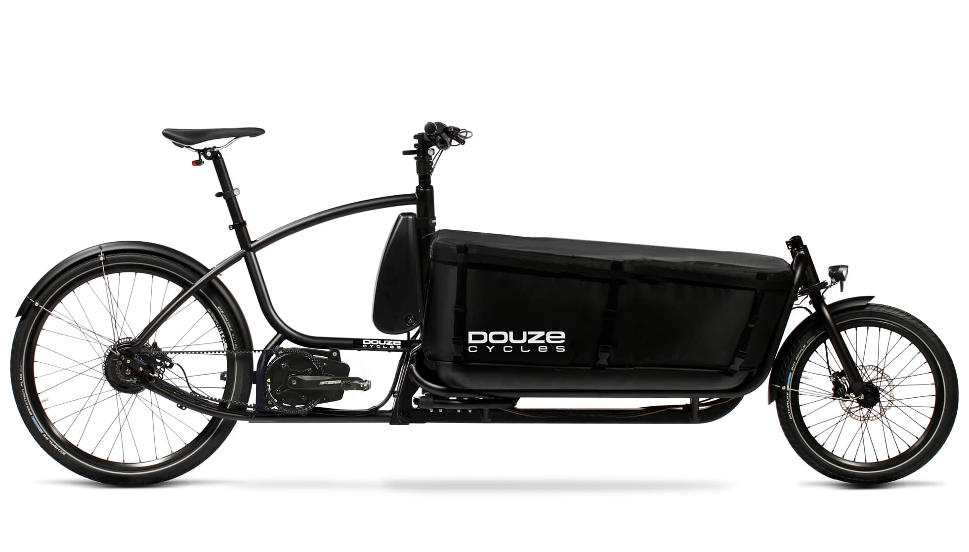 Vélo cargo biporteur électrique DOUZE CYCLE V2 Shimano Velab