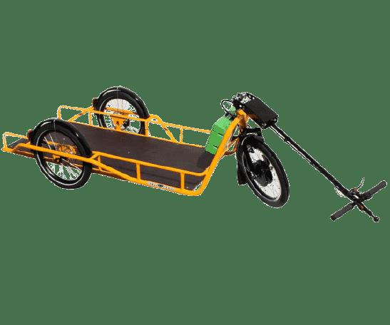 Remorque vélo auto-freinée CARLA CARGO eCarla