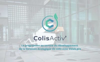ColisActiv' | Un programme au service du transport écologique de colis