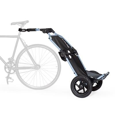 Remorque cargo pliable pour vélo cargo travoy burley velab