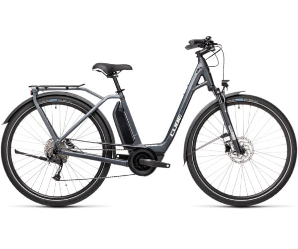 velo electrique cube town sport hybrid one velab